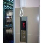 Hộp Button Trệt: đèn hiển thị dọc - có ổ khoá điện để tắt thang máy